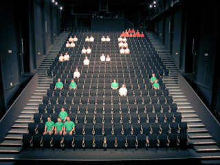 SPACE INVADERS | Guillaume Reymond | video performance