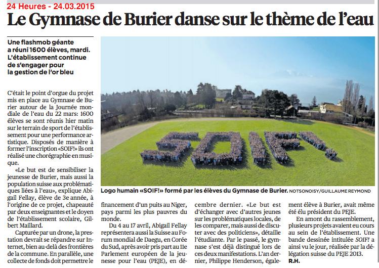 SOIF article 24Heures 20150324