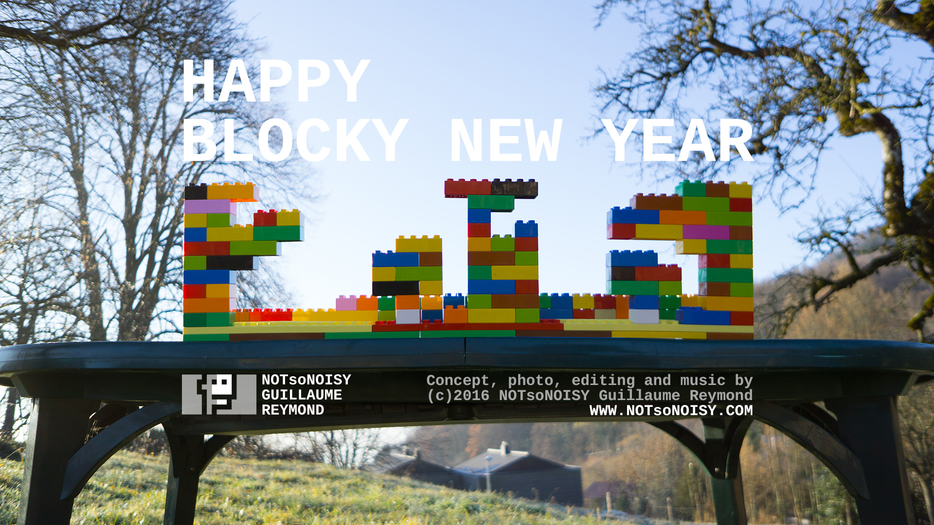 Happy Blocky New Year 2016