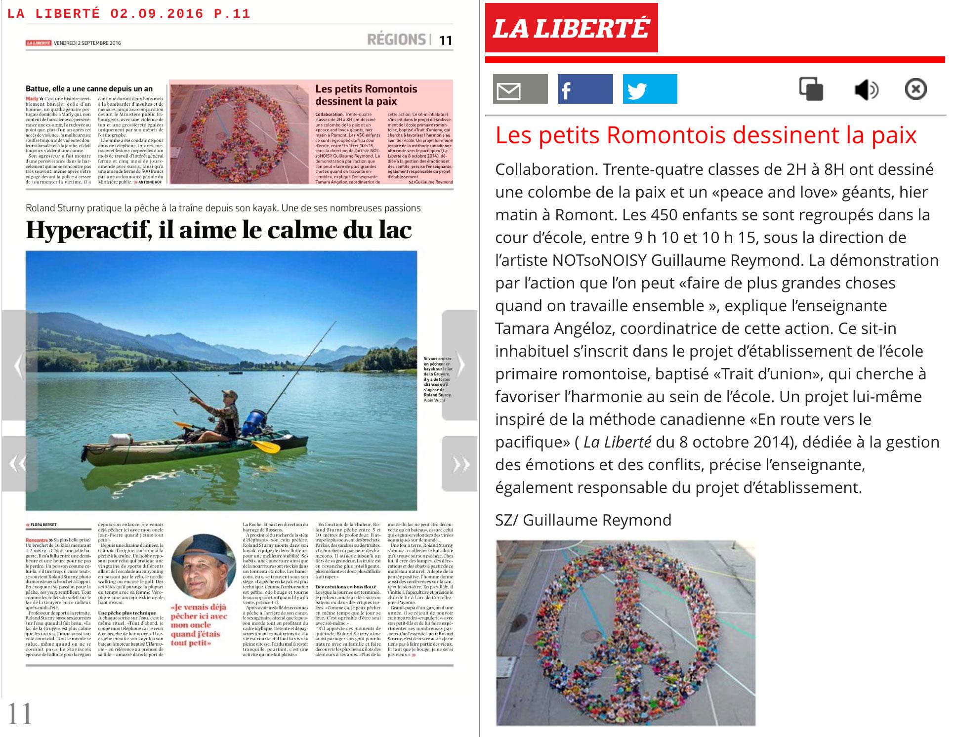 La Liberté 2016_09_02