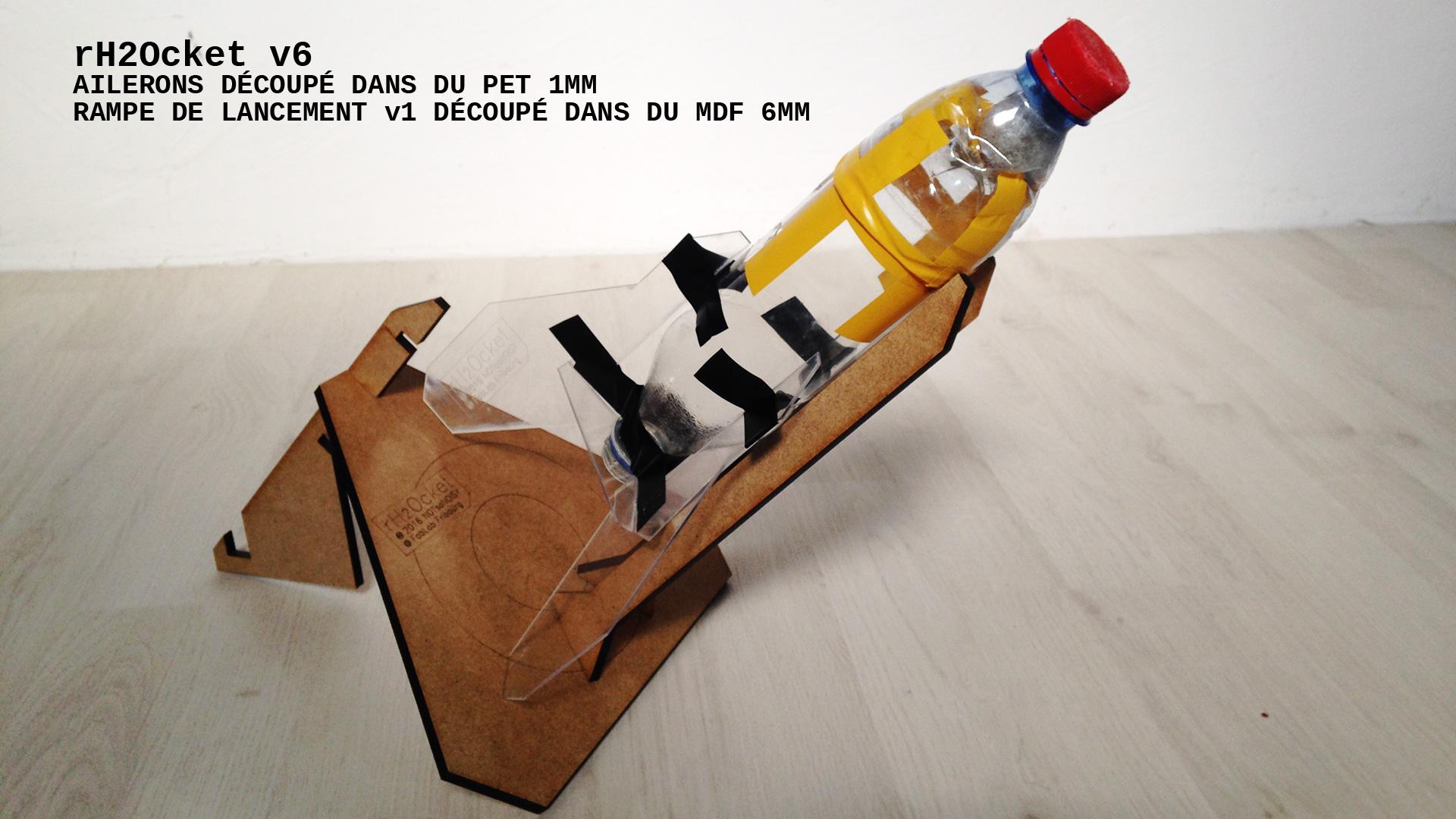 rH2Ocket fusée à eau