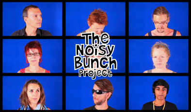 THE NOISY BUNCH PROJECT | Guillaume Reymond | video performance