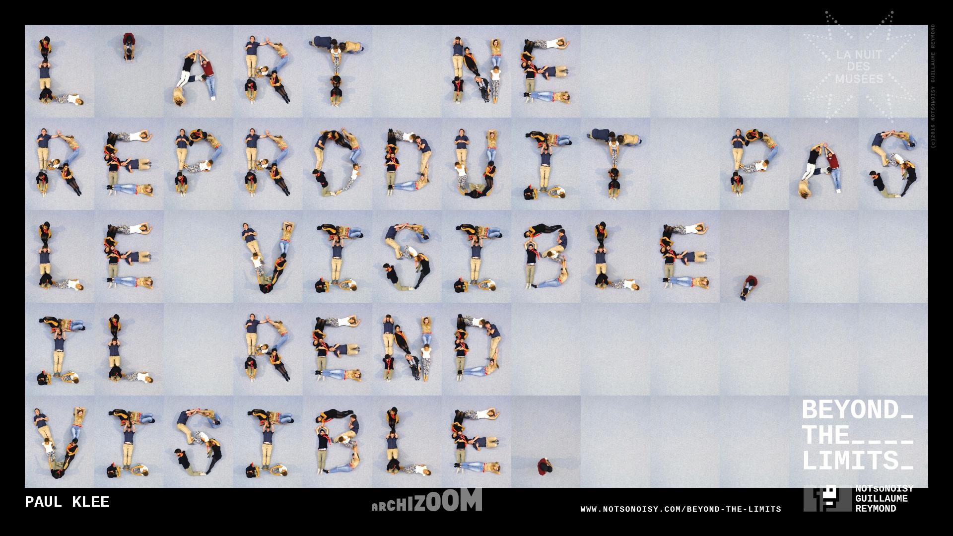 Beyond The Limits - Alphabet humain #AZ3