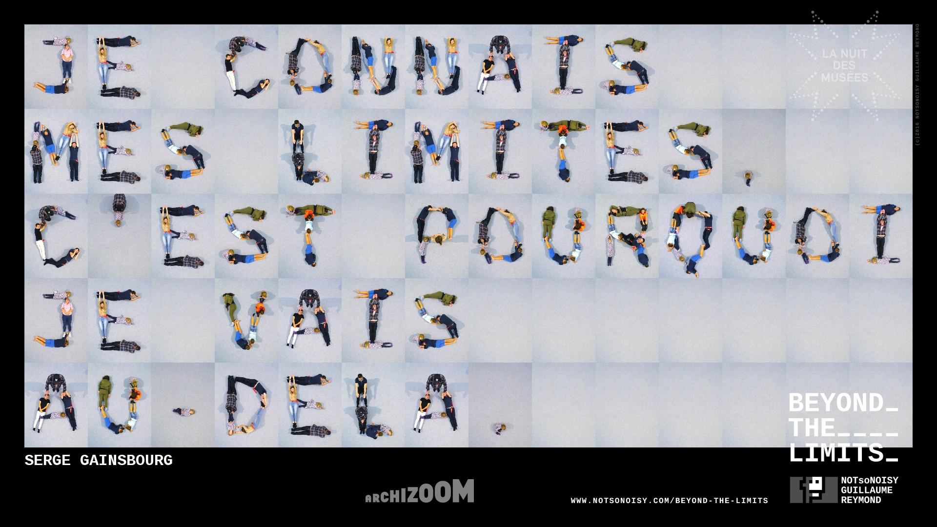 Beyond The Limits - Alphabet humain #AZ4