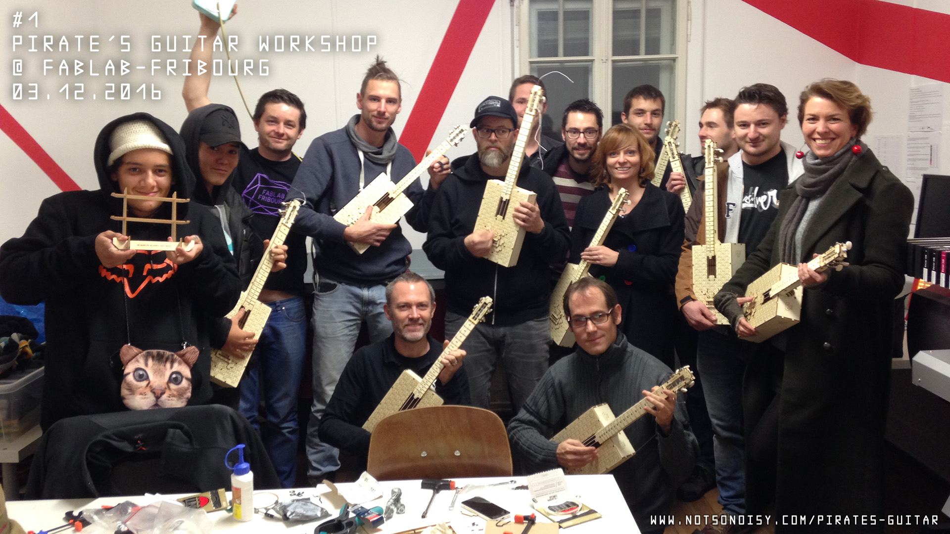 Atelier guitare/ukulélé DIY #1