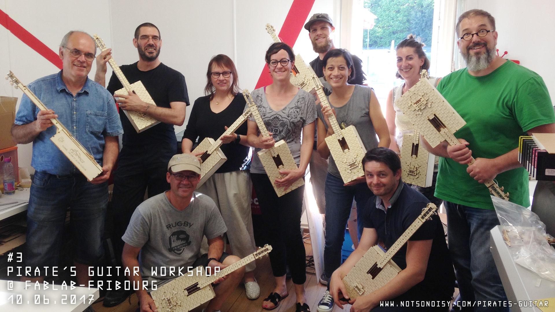 Atelier guitare/ukulélé DIY #3