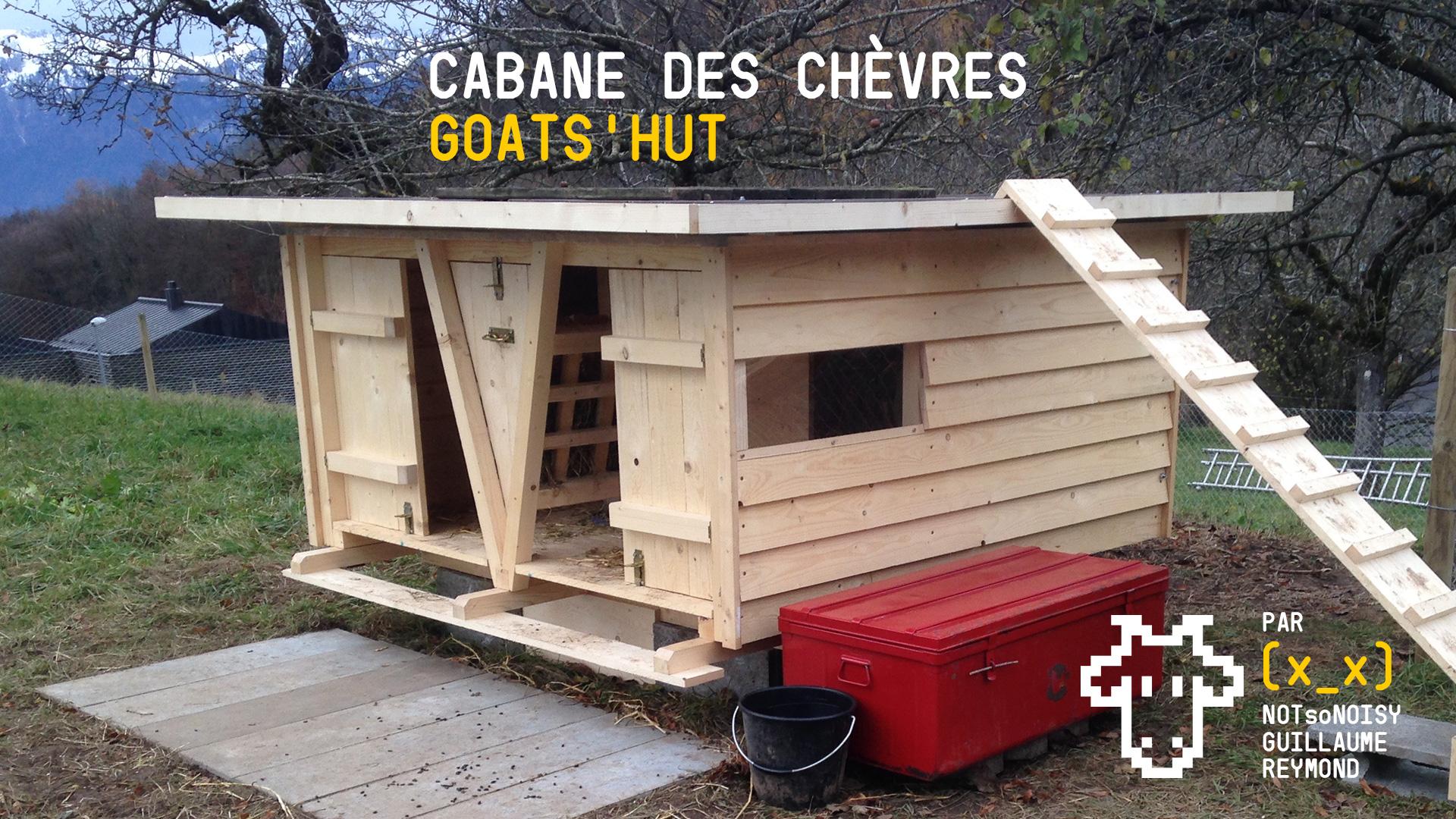 Cabane des chèvres