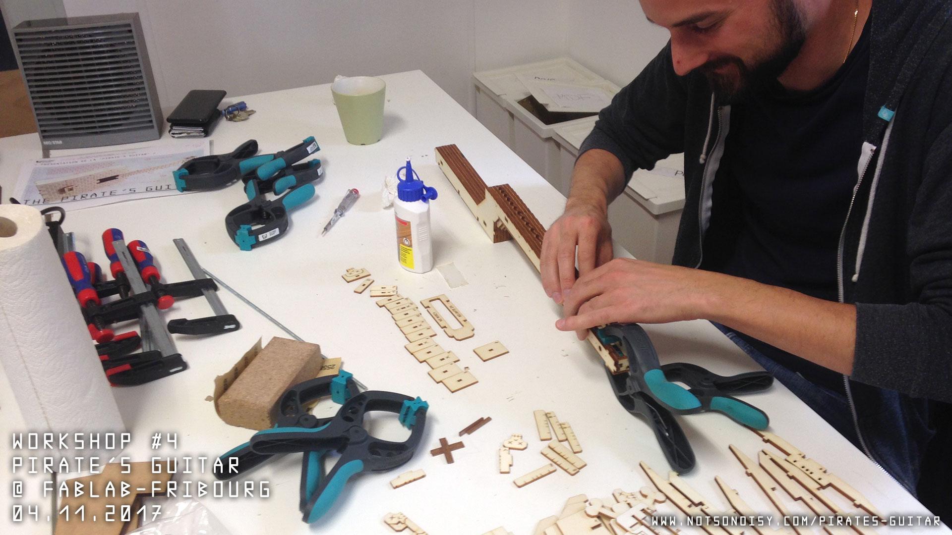 Atelier guitare/ukulélé DIY #4