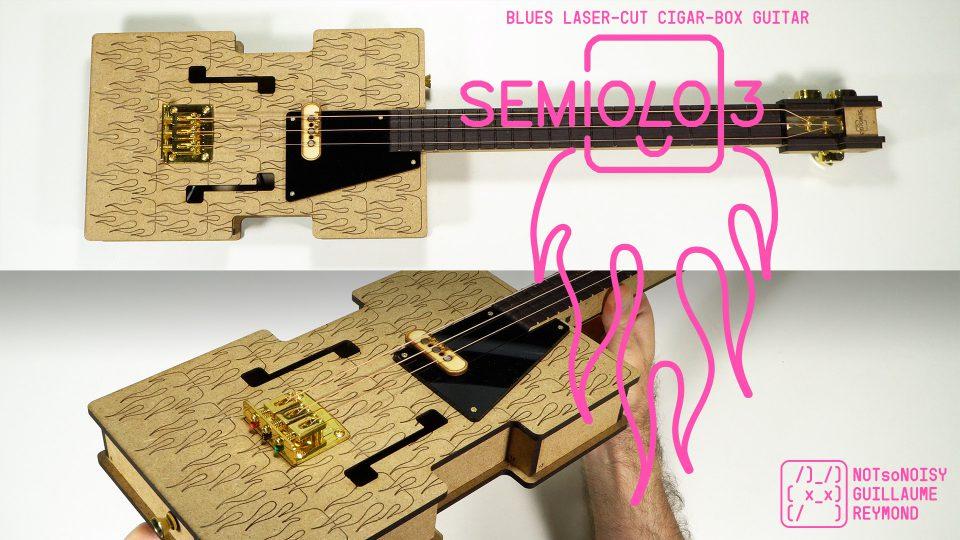 Semiolo3 laser cut guitar