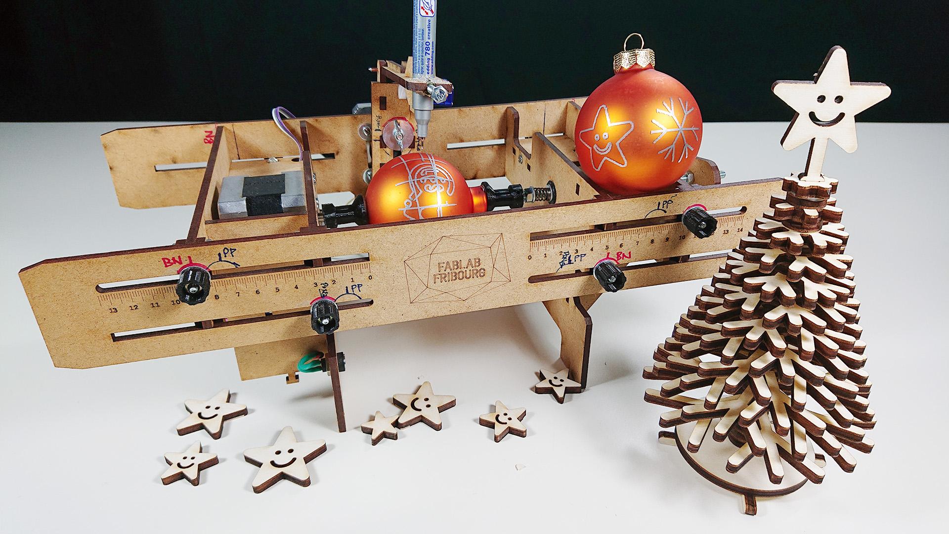 Atelier de Noël au Fablab-Fribourg