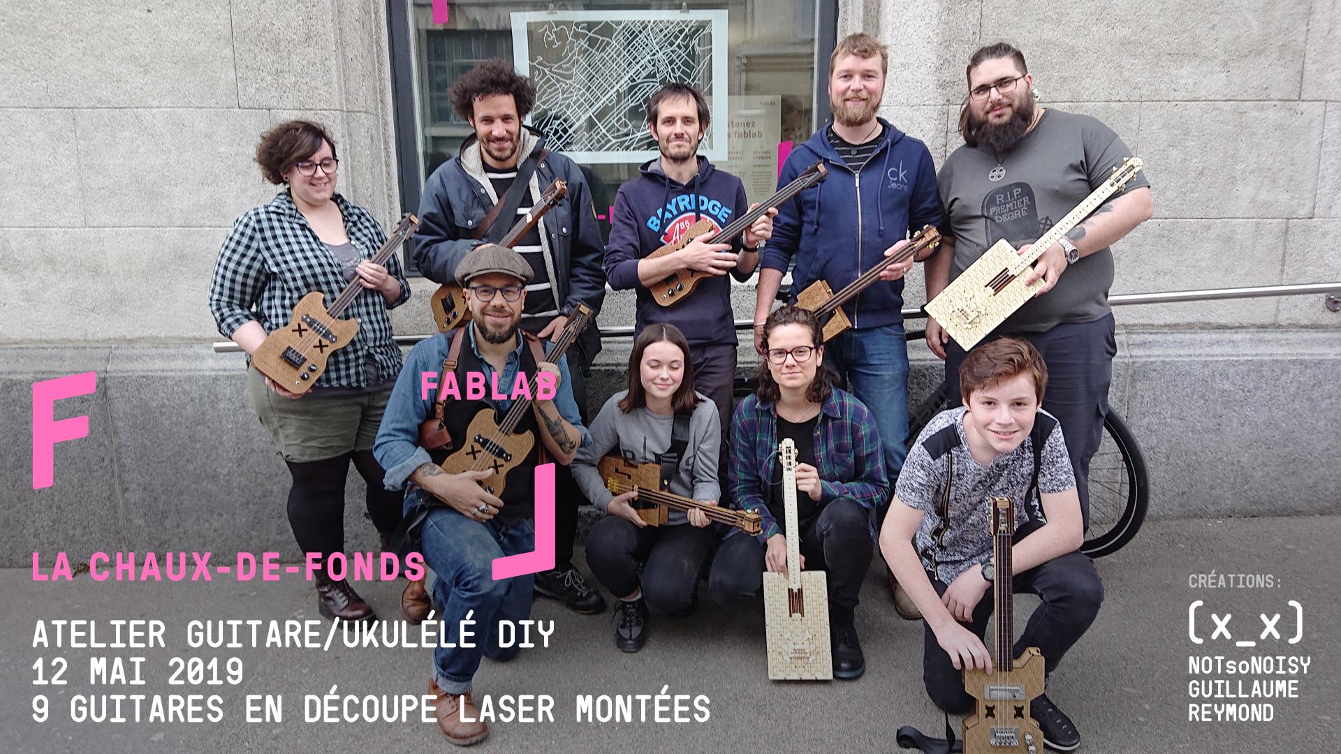 Atelier guitare/ukulélé DIY #7
