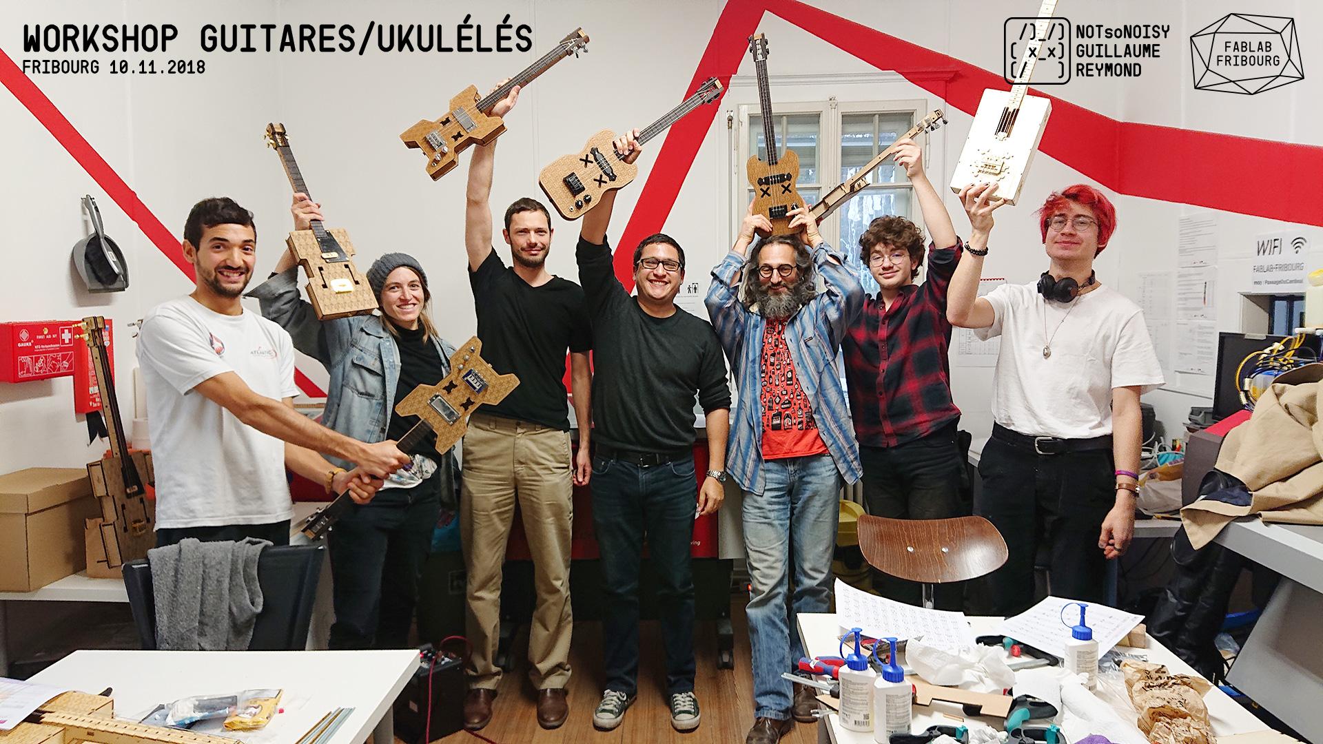 Atelier guitare/ukulélé DIY #6