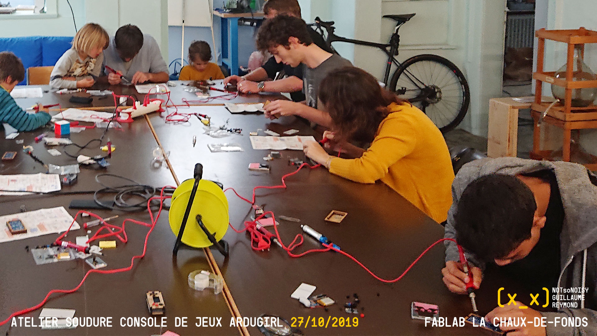 Atelier Ardugirl au Fablab La Chaux-de-Fonds